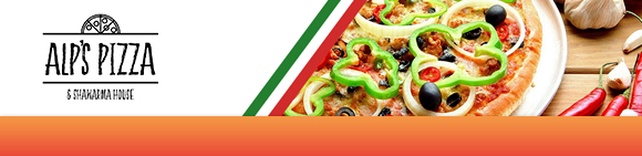 Alp's Pizza Bundbanner